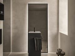Cerasa, LOFTY 2 Specchio da terra con illuminazione integrata per bagno