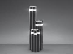 Paletto luminoso a LED in alluminio pressofuso LOGICO GARDEN 3x120° - Logico