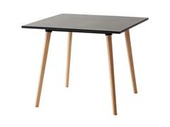 Tavolo quadrato in laminatoLOGIN | Tavolo quadrato - GABER