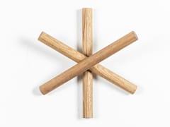Appendiabiti da parete in legnoLOGS - TON
