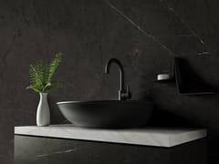 Pavimento/rivestimento in ceramica sinterizzata effetto marmoLONDRA BLACK - SANICERAMIC IMPORT AND EXPORT