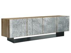 Mobile TV in legno massello con ante a battenteLONDRA | Mobile TV - OLIVER B.