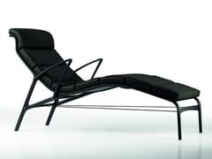 Chaise longue imbottita in tessuto LONGFRAME SOFT - 415 - Frame