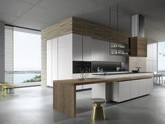 Cucina in legno con isola LOOK | Cucina con isola - SISTEMA