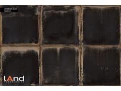 Land Porcelanico, LOOKBACK BLACK Pavimento/rivestimento in gres porcellanato tecnico effetto metallo