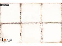 Pavimento/rivestimento in gres porcellanato tecnico effetto metallo LOOKBACK WHITE - LOOKBACK