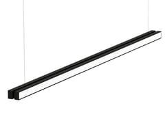Lampada a sospensione a luce indiretta in alluminio LOOP LINEARI - Loop