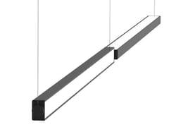 Lampada a sospensione orientabile in alluminio LOOP ORIENTABILE - Loop