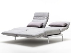 Chaise longue in tessuto ROLF BENZ 380 PLURA | Chaise longue - ROLF BENZ