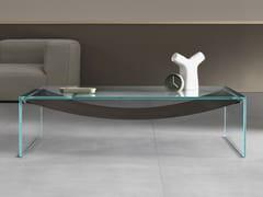 Tavolino basso in vetro da salotto AMACA | Tavolino basso - Amaca