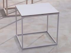 Tavolino rettangolare in laminato per contract LOW | Tavolino in laminato -