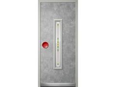 Pannello di rivestimento per porte blindate in alluminioLUCE - NOVECENTO - ROYAL PAT