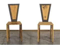 Sedia in legno di recuperoLUIGIA - A&B ROSA DEI LEGNI BY ANTICA EDILIZIA
