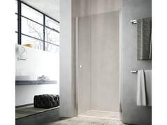Box doccia con porta a battente LULA UF - Showering