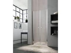 Box doccia con porta a battente LULA UG - Showering