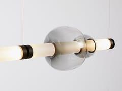Lampada a sospensione a LED in vetro soffiatoLUNA 1 | Lampada a sospensione - GABRIEL SCOTT