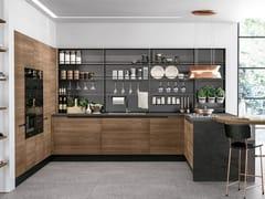 Cucina componibile con penisolaLUNA | Cucina con penisola - CUCINE LUBE