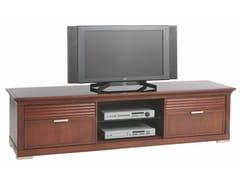 Mobile TV in ciliegio con cassettiLUNA | Mobile TV con cassetti - SELVA