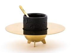 Tazza da caffè con piattinoLUNAR | Tazza con piattino - SELETTI