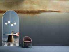 Carta da parati stampata in digitale in vinile LUNAR - COLLECTION IX Creative Wallcoverings