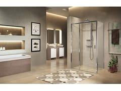 Box doccia angolare con porta scorrevoleLUNES 2.0 | 3PH + F - NOVELLINI