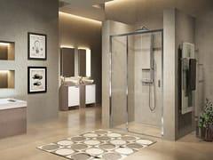 Box doccia a nicchia con porta scorrevoleLUNES 2.0 | 3PH - NOVELLINI
