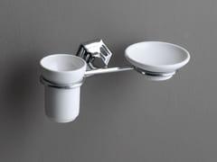 Portasapone / portaspazzolino in ceramica LUX | Portasapone in ceramica - Lux