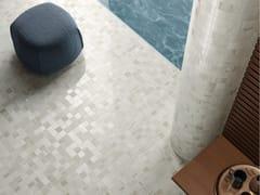 Pavimento/rivestimento in gres porcellanato effetto marmoLUX EXPERIENCE HELSINKI WHITE - ITALGRANITI