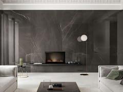 Pavimento/rivestimento in gres porcellanato effetto marmoLUX EXPERIENCE PIETRA GREY - ITALGRANITI