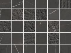 Mosaico in ceramica a pasta biancaLUX EXPERIENCE WALL PIETRA GREY | Mosaico - ITALGRANITI
