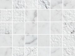 Mosaico in ceramica a pasta biancaLUX EXPERIENCE WALL STATUARIETTO | Mosaico - ITALGRANITI