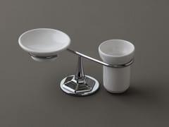 Portasapone / portaspazzolino in ceramica LUX | Portasapone - Lux