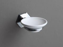Portasapone a muro in ceramica LUX | Portasapone a muro - Lux