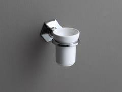 Portaspazzolino a muro in ceramicaLUX | Portaspazzolino a muro - BLEU PROVENCE