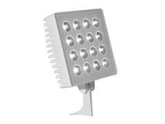 Proiettore per esterno a LED orientabile in alluminioLUXOR L3 - ADHARA