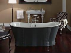 Vasca da bagno centro stanza in ghisaLUXURY - BLEU PROVENCE