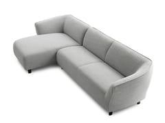 Divano in tessuto con chaise longueLXR11   Divano con chaise longue - LEOLUX LX