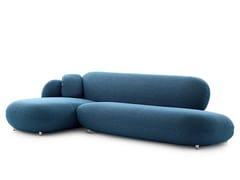Divano in tessuto con chaise longueLXR16   Divano in tessuto - LEOLUX LX