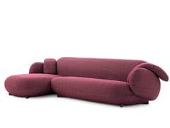 Divano in tessuto con chaise longueLXR16   Divano con chaise longue - LEOLUX LX