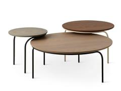 Tavolino basso rotondo in legnoLXT08 | Tavolino rotondo - LEOLUX LX