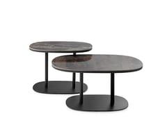 Tavolino rettangolare in metallo da salottoLXT09 | Tavolino rettangolare - LEOLUX LX