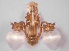 Lampada da parete a luce diretta in ottone LYON IV | Lampada da parete - Lyon