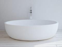 RILUXA, LYON Vasca da bagno rotonda in Solid Surface