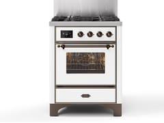 Cucina a libera installazione in acciaioM07N | Cucina a libera installazione - ILVE
