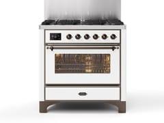 Cucina a libera installazione in acciaioM09N | Cucina a libera installazione - ILVE