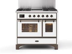 Cucina a libera installazione in acciaioMD10N | Cucina a libera installazione - ILVE