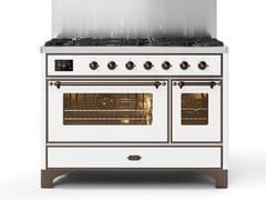 Cucina a libera installazione in acciaioM12N | Cucina a libera installazione - ILVE