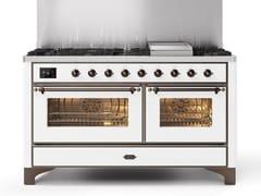 Cucina a libera installazione in acciaioM15N | Cucina a libera installazione - ILVE