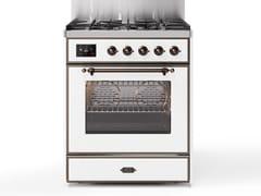 Cucina a libera installazione in acciaioM30N | Cucina a libera installazione - ILVE
