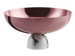 Centrotavola in acciaio inox con base semisfericaMADAME | Coppa - SAMBONET PADERNO INDUSTRIE